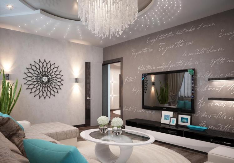 Wohnzimmer Gestalten Modern Glänzend On In Einrichten Kalte Oder Warme Töne 4