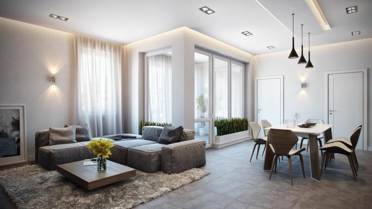 Wohnzimmer Gestalten Modern Unglaublich On In Bezug Auf Einrichten 52 Tolle Bilder Und Ideen 1