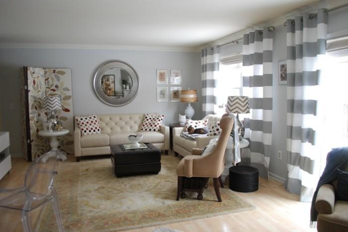 Wohnzimmer Grau Beige Bescheiden On Auf In 55 Beispielen Erfahren Wie Das Geht 3