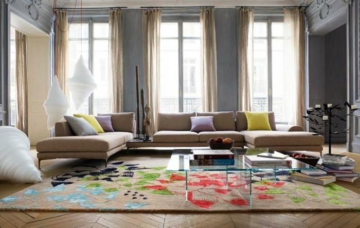 Wohnzimmer Grau Beige Exquisit On überall 115 Schöne Ideen Für In Archzine Net 6
