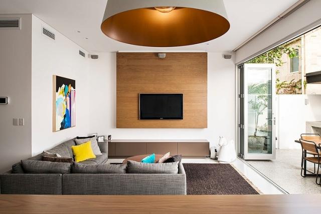Wohnzimmer Grau Holz Perfekt On Mit Ideen Zum Einrichten In Neutralen Farben 8