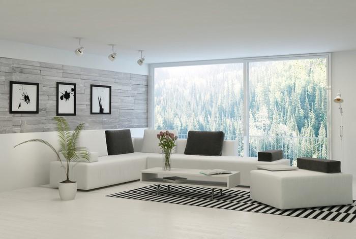 Wohnzimmer Ideen In Weiß