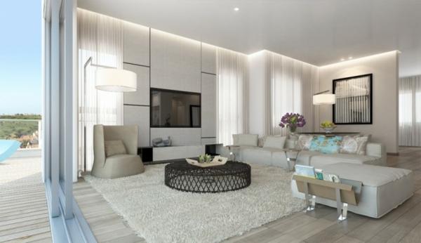 Wohnzimmer Ideen In Weiß Wunderbar On Mit Modern Mxpweb Com 2