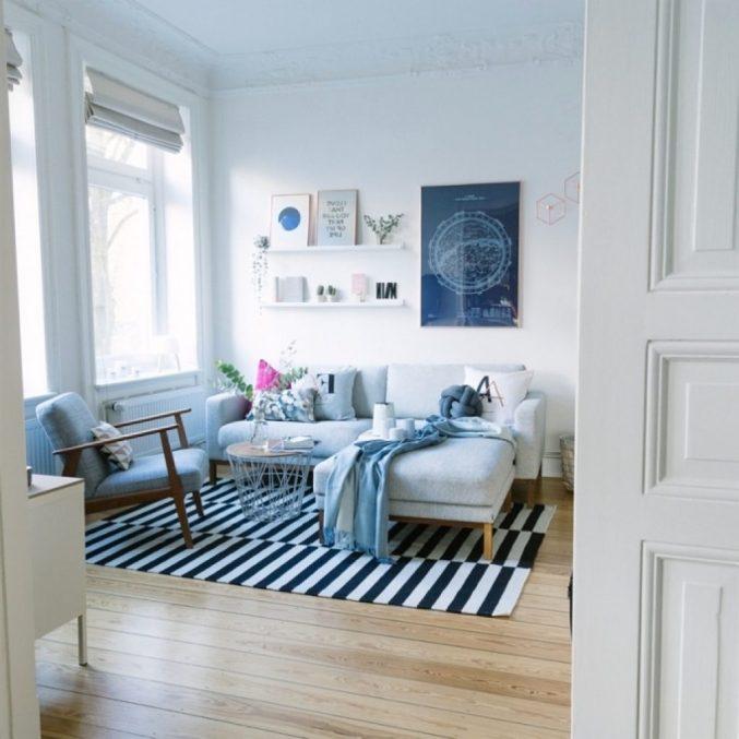 Wohnzimmer Ideen Kupfer Blau Erstaunlich On Beabsichtigt Uncategorized Schönes Mit 6