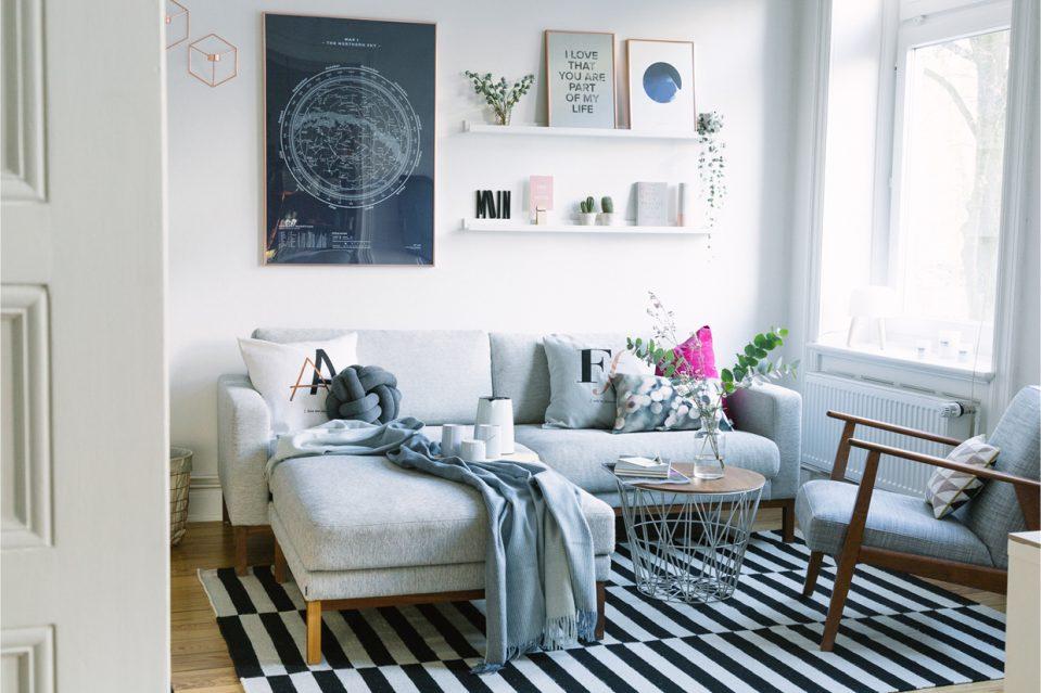 Wohnzimmer Ideen Kupfer Blau Exquisit On In Uncategorized Kleines Mit Kreativ 3