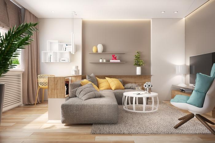 Wohnzimmer Inneneinrichtung Einfach On In 1001 Einrichten Beispiele Welche Ihre Einrichtungslust 4