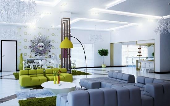 Wohnzimmer Inneneinrichtung Kreativ On In 125 Wohnideen Für Und Design Beispiele 5