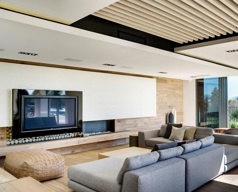 Wohnzimmer Inneneinrichtung Unglaublich On Mit 88 Ideen Für Und Schlafzimmer 9