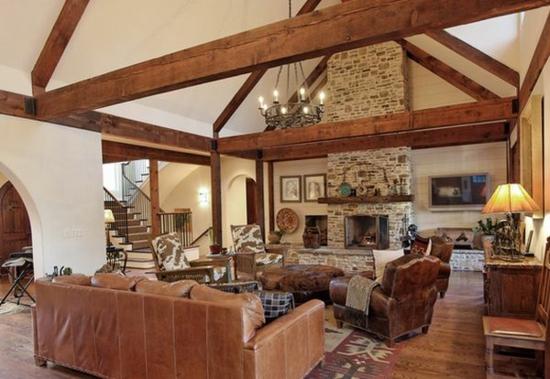 Wohnzimmer Landhausstil Holz Einfach On In Bezug Auf Wohnzimmermöbel Mxpweb Com 8