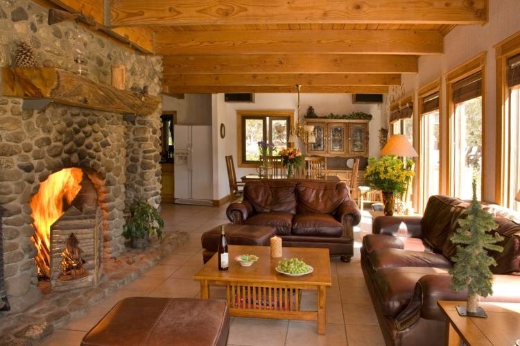 Wohnzimmer Landhausstil Holz
