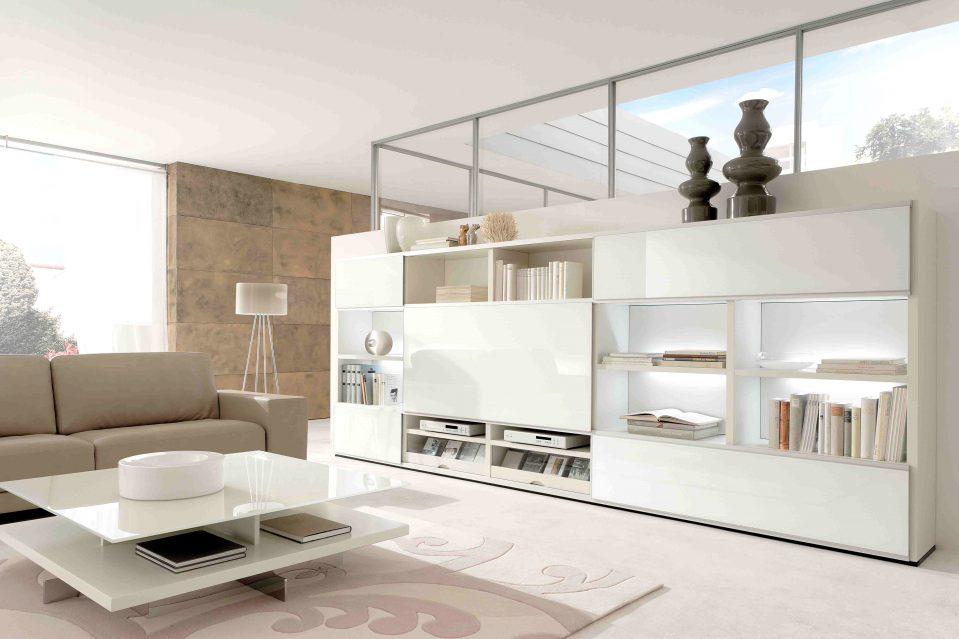 Wohnzimmer Schrankwand Modern Luxus
