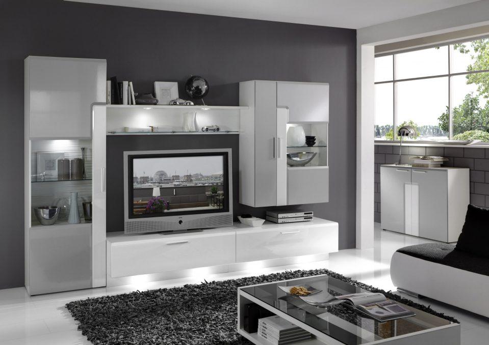 Wohnzimmer Schrankwand Modern Luxus Nett On In Bezug Auf Uncategorized Uncategorizeds 4