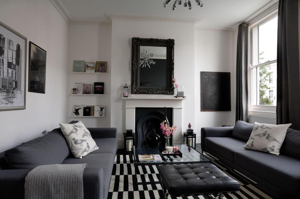 Wohnzimmer Weiß Braun Schwarz Wunderbar On In Bezug Auf Modern Weiss DownShoreDrift Com Stil 5
