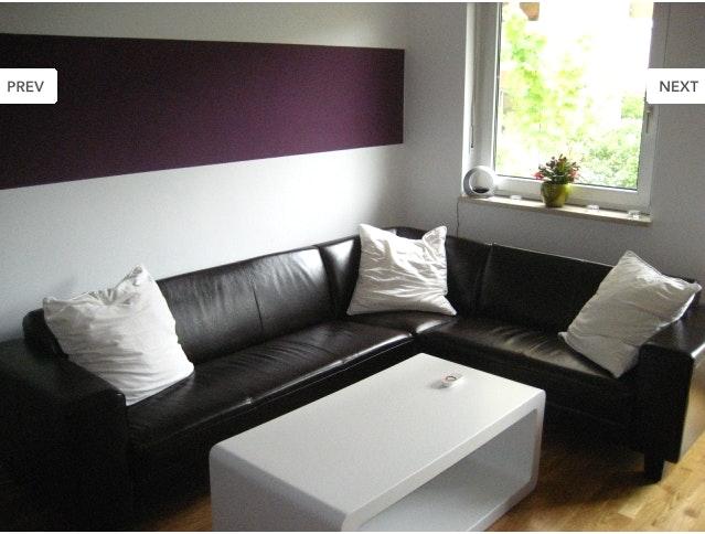 Zimmer Lila Weiß Streichen Nett On Andere In Bezug Auf Mit Wand Welche Farbe Oder Muster Kunst 4