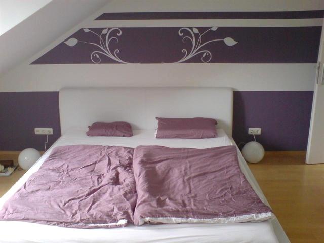 Zimmer Lila Weiß Streichen Zeitgenössisch On Andere Mit Home Dekor Beeiconic Com 6