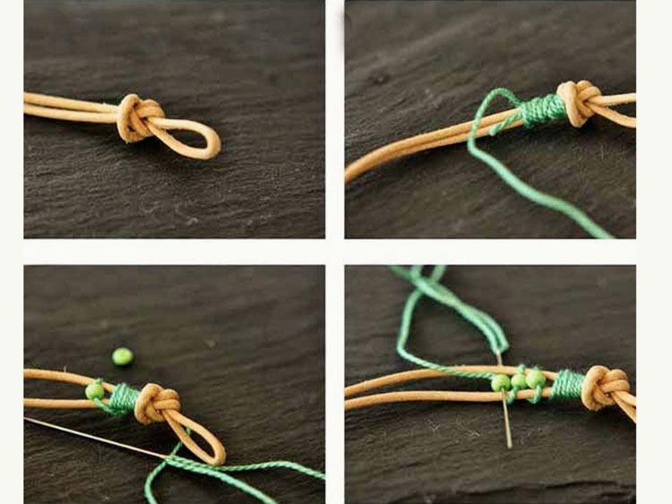 Armbänder Selber Machen Charmant On Andere Für Perlen Armband 5