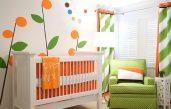 Babyzimmer Grün Beige