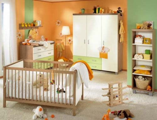 Babyzimmer Grün Beige Zeitgenössisch On Beabsichtigt Innen Und Aussen Architektur Orange Grun Chestha Com 5