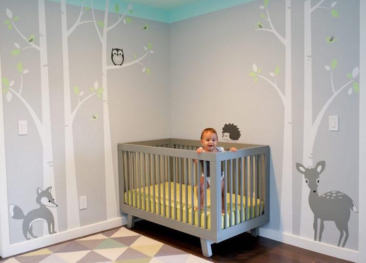 Babyzimmer Wandgestaltung Ausgezeichnet On Andere Auf Die Besten 25 Ideen Pinterest 1
