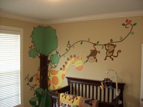 Babyzimmer Wandgestaltung Erstaunlich On Andere Auf Die Besten 25 Kinderzimmer Ideen Pinterest 4