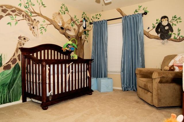 Babyzimmer Wandgestaltung Erstaunlich On Andere Mit Amocasio Com 9