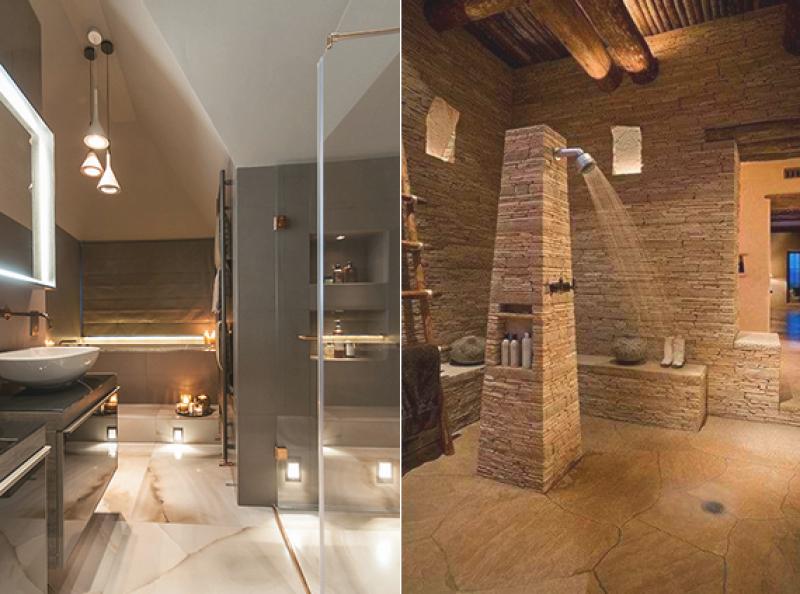 Bad Beleuchtung Modern Bescheiden On überall Badezimmer Einrichten Abgehangte 9