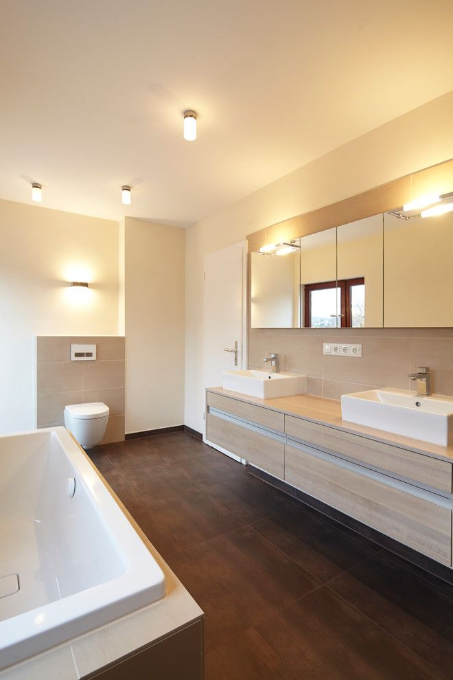 Bad Beleuchtung Modern Interessant On Innerhalb Gäste Wc Fliesen Stil Für Badezimmer Mit Armatur Von 3