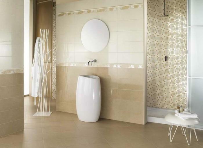 Bad Fliesen Ideen Mosaik Glänzend On In Bezug Auf Kleines 58 Praktische Für Ihr Zuhause 9
