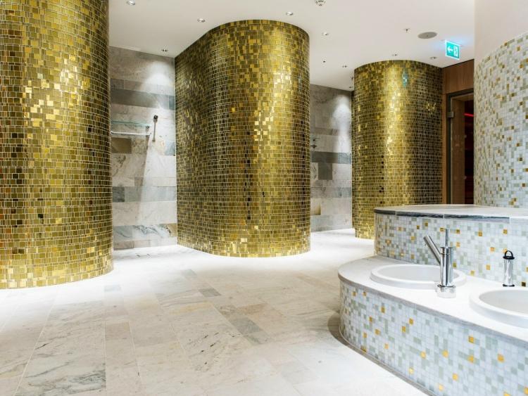 Bad Fliesen Ideen Mosaik Herrlich On Für Fürs Badezimmer 15 Und Muster 6