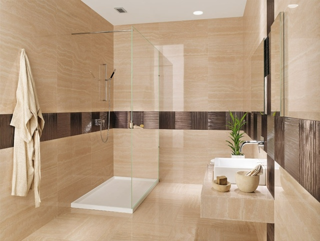 Bad Fliesen Ideen Mosaik Wunderbar On In Bezug Auf Magnificent Badezimmer 3