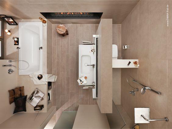 Badezimmer Aufteilung Wunderbar On Und Beispiele 10qm Pinterest House 8