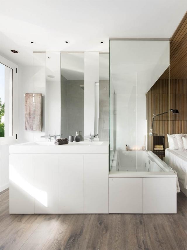 Badezimmer Beispiele Stilvoll On In 106 Bilder Für Moderne Badgestaltung 8