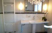 Badezimmer Bordüre Ausstattung