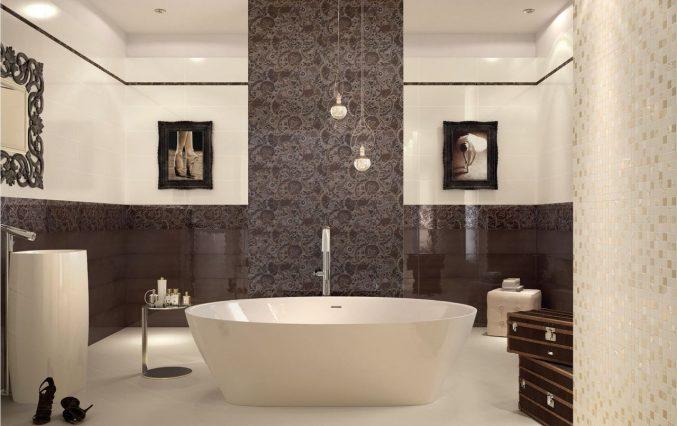 Badezimmer Braun Creme Erstaunlich On Beabsichtigt Uncategorized Kleines Bad Modern Ebenfalls 6