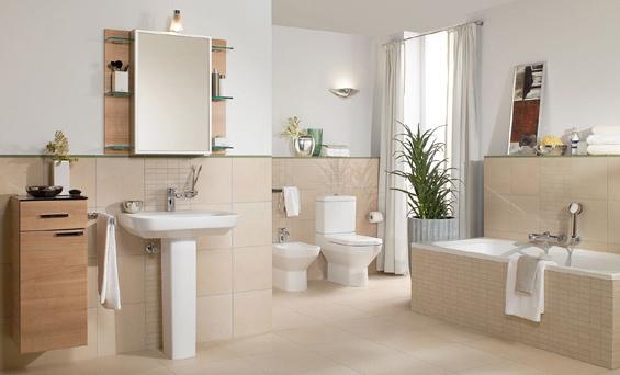 Badezimmer Braun Creme Interessant On überall Bad Wohndesign 8