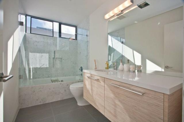 Badezimmer Design Badgestaltung Einfach On Für 105 Ideen Stein Und Holz Kombinieren 6