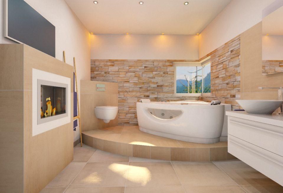 Badezimmer Design Beispiele Beige Einzigartig On Für Uncategorized Ehrfürchtiges 6