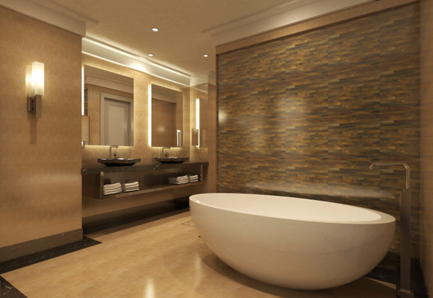 Badezimmer Design Beispiele Beige Exquisit On In Bezug Auf Wohndesign 8