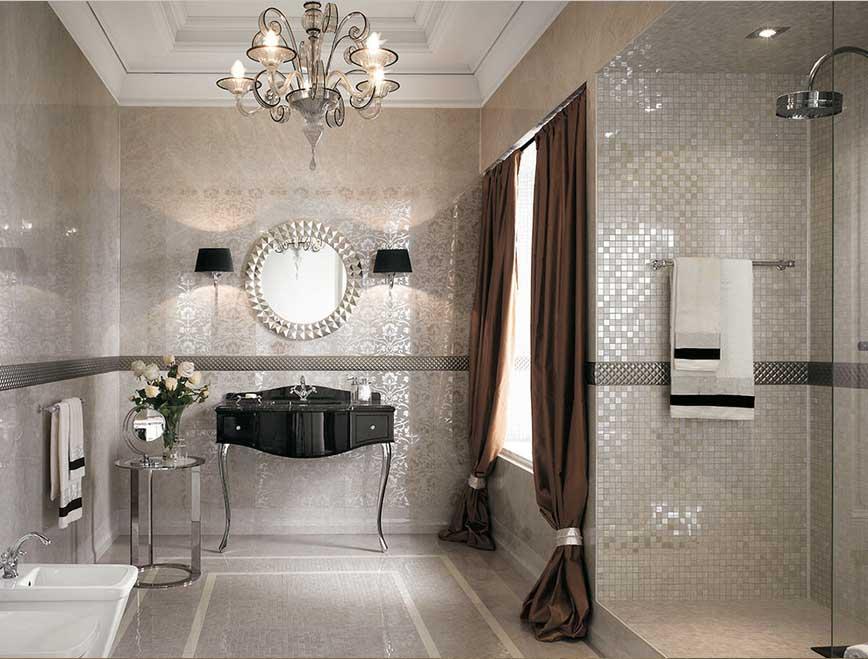 Badezimmer Design Beispiele Beige Herrlich On Und Glamourös Bad Ideen Beig 1