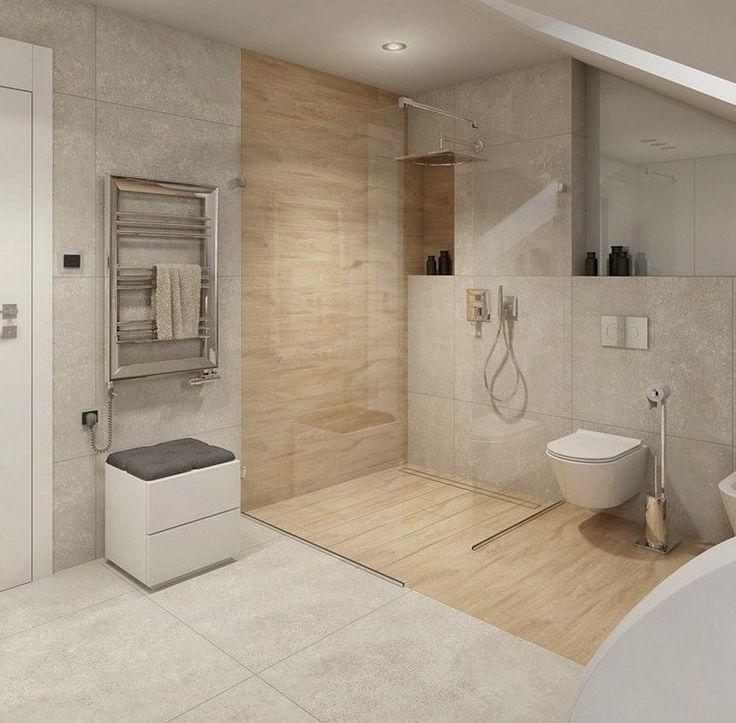 Badezimmer Design Beispiele Beige Interessant On Auf Die Besten 25 Begehbare Dusche Ideen Pinterest 4