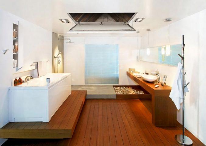 Badezimmer Design Beispiele Beige Unglaublich On In Bezug Auf Uncategorized Geräumiges 7