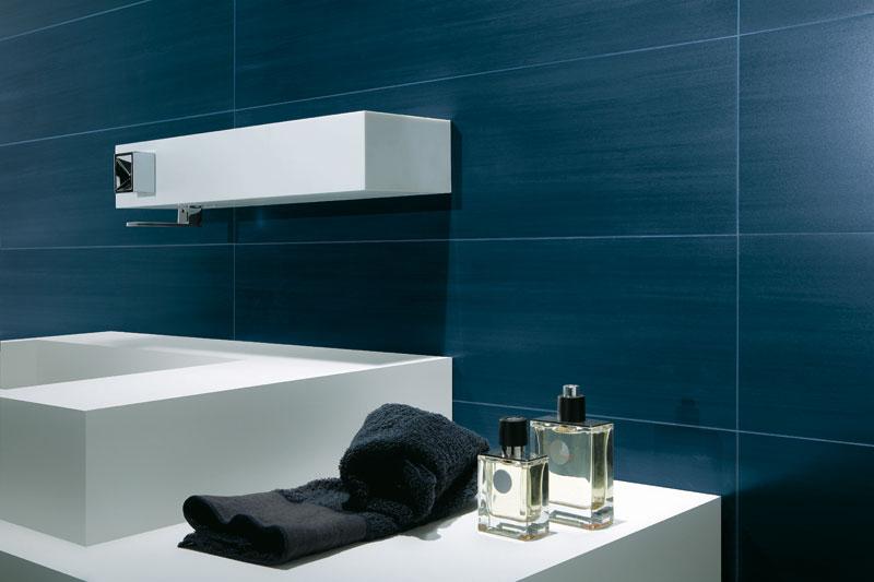 Badezimmer Dunkelblau Einfach On Beabsichtigt LEBENSräume By Baustoffring 4