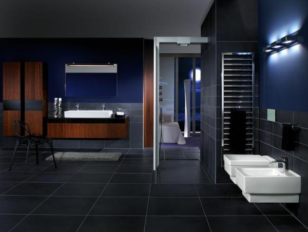 Badezimmer Dunkelblau Einzigartig On Mit Design 5