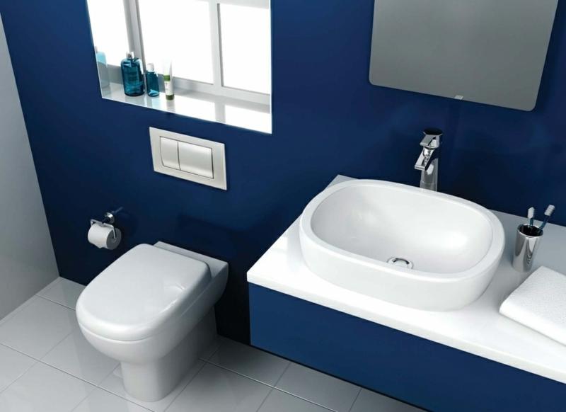 Badezimmer Dunkelblau Herrlich On In Design 1