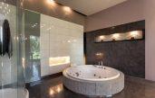 Badezimmer Fliesen Braun