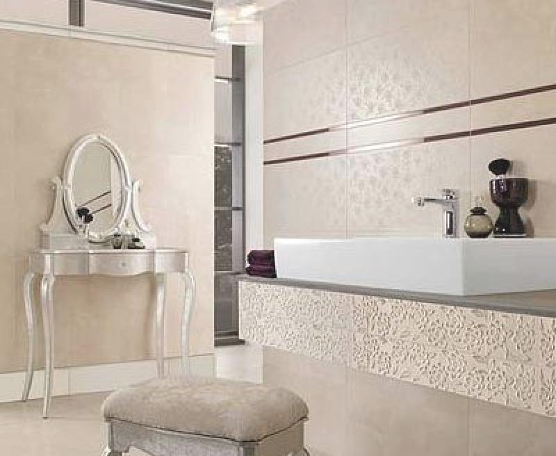 Badezimmer Fliesen Elfenbein Exquisit On In Bezug Auf Minimalistisch 3