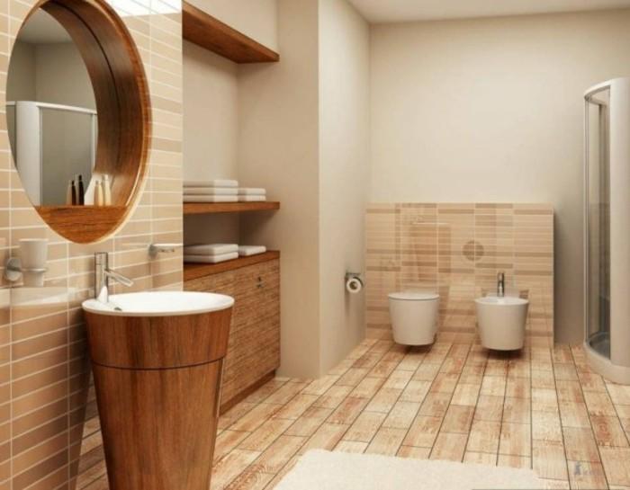 Badezimmer Fliesen Holzoptik Fein On Auf Bodenfliesen In Ehrfürchtig Bad 7