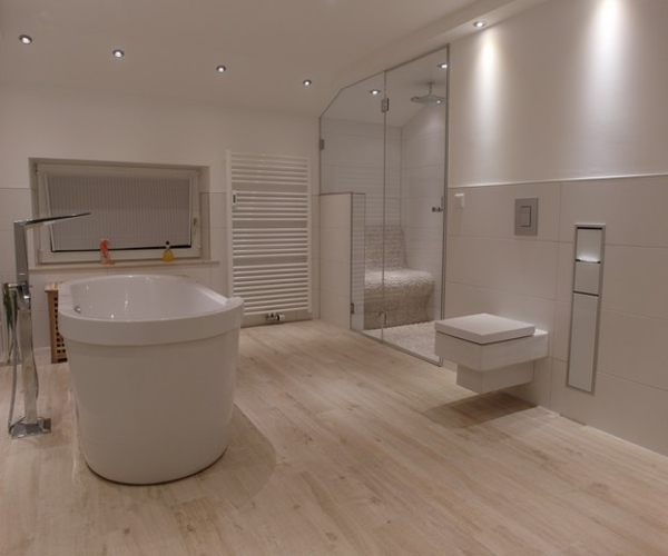 Badezimmer Fliesen Holzoptik Grau Herrlich On Für Schön Bad Rabatt Auf Design5000417 In 9