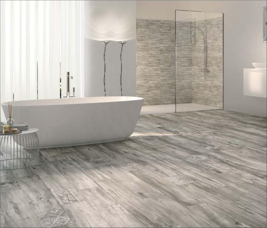 Badezimmer Fliesen Holzoptik Grau Nett On Für Stilvoll ZiaKia Com Graue In Bad 1