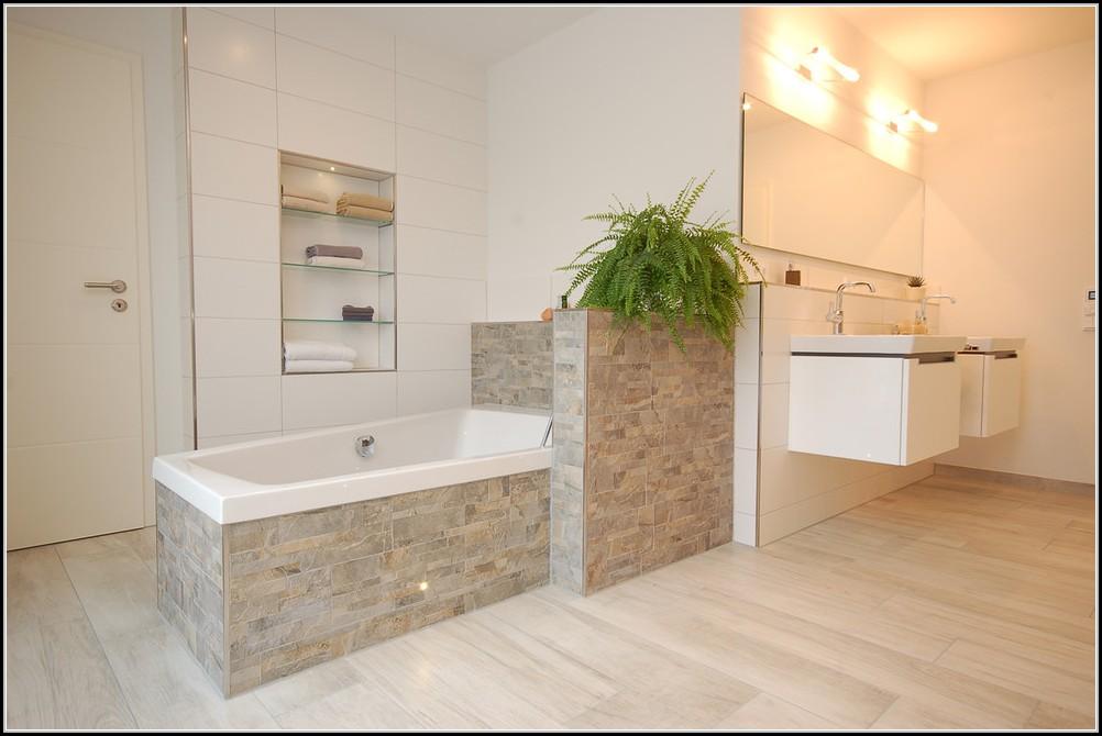 Badezimmer Fliesen Holzoptik Nett On In Bezug Auf Bescheiden Bad Innen Andere Grau 4